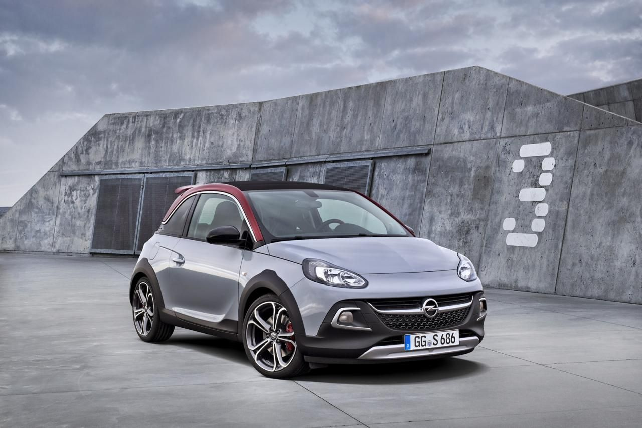 Opel Adam Rocks S Official pictures and details