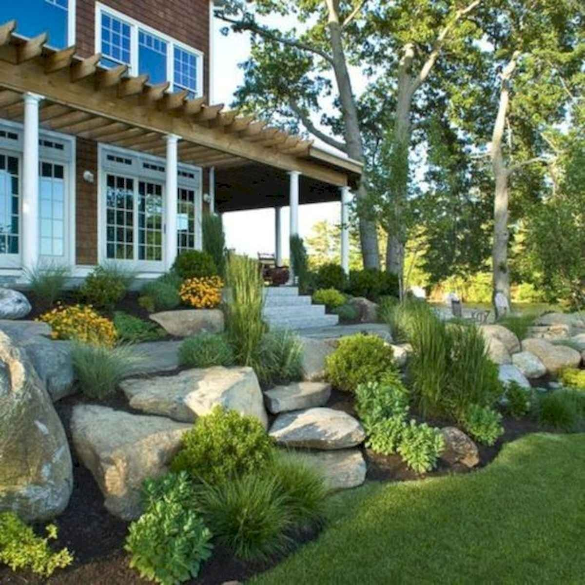 40 Cool Front Yard Garden Landscaping Design Ideas And Remodel Taman