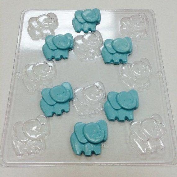 Elephant Chocolate Mold Baby Shower Treats Baby Shower Desserts Baby Shower Cake Pops