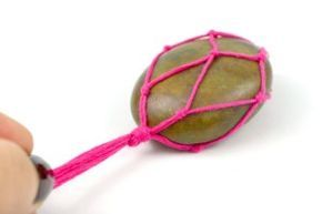 DIY Stone Necklace Tutorial - Crafts Unleashed