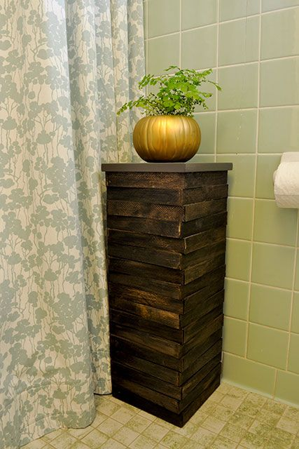 Wood Shim Plant Stand Beautiful Matters Diy Plant