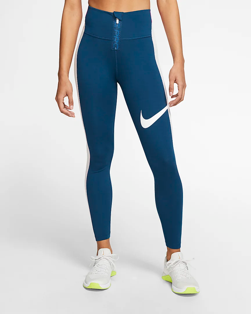 Nike Power Icon Clash Women's 7/8 Training Tights. Nike
