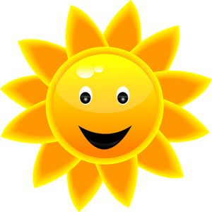 sunshine clipart image happy clipart panda free clipart images rh pinterest com Smiley-Face Emotions Clip Art smiley sun face clipart free
