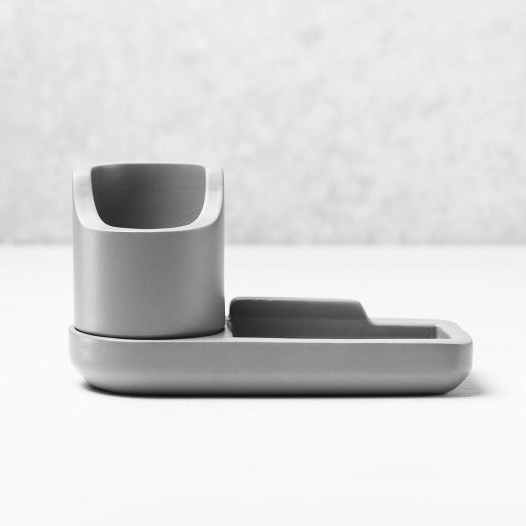 Object 003 - Desk Tray Set - Medium Grey