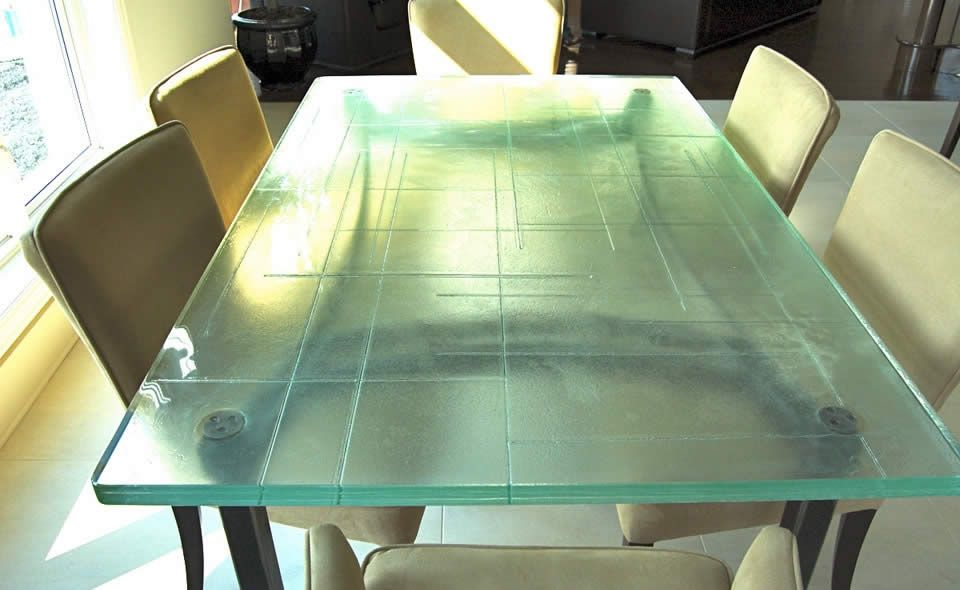 Thermoformed glass kitchen countertops | Pinterest