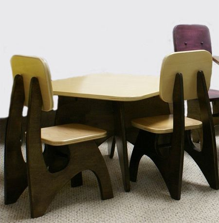 The Modern Chair And Table Set Is Your Kid S Ultimate Furniture2 Derevo