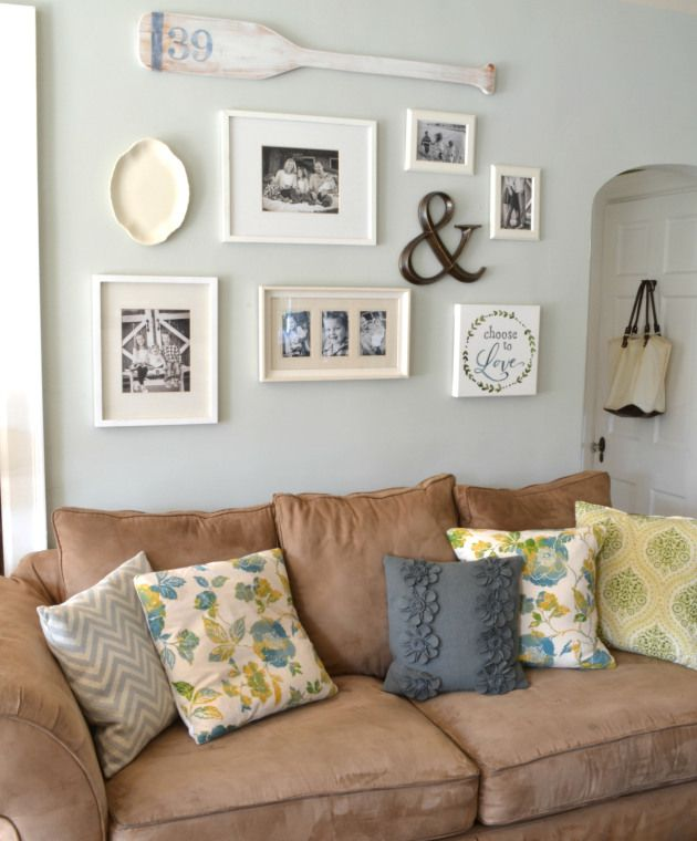 Gallery Wall Ideas The & Sign Love It Just Random