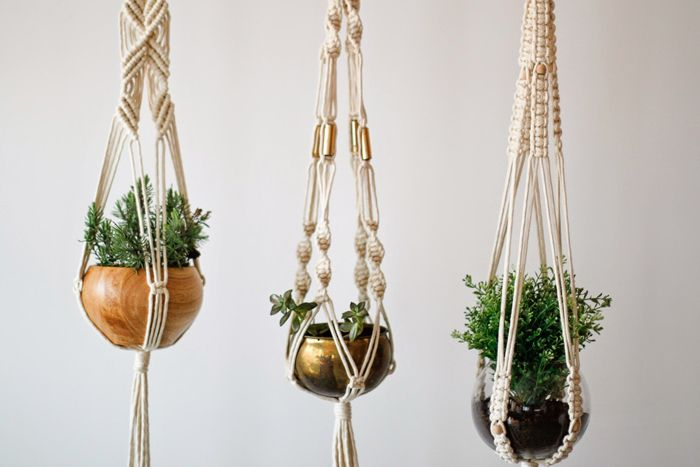 Hanging Plants Macrame Planter Ideer