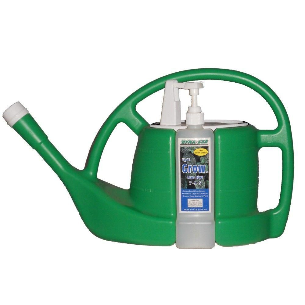 Dyna-Gro 1.5 Gal. Grow Quick Dispense Watering Can 20 oz. Concentrated Liquid Plant Food-DG2516GC - The Home Depot