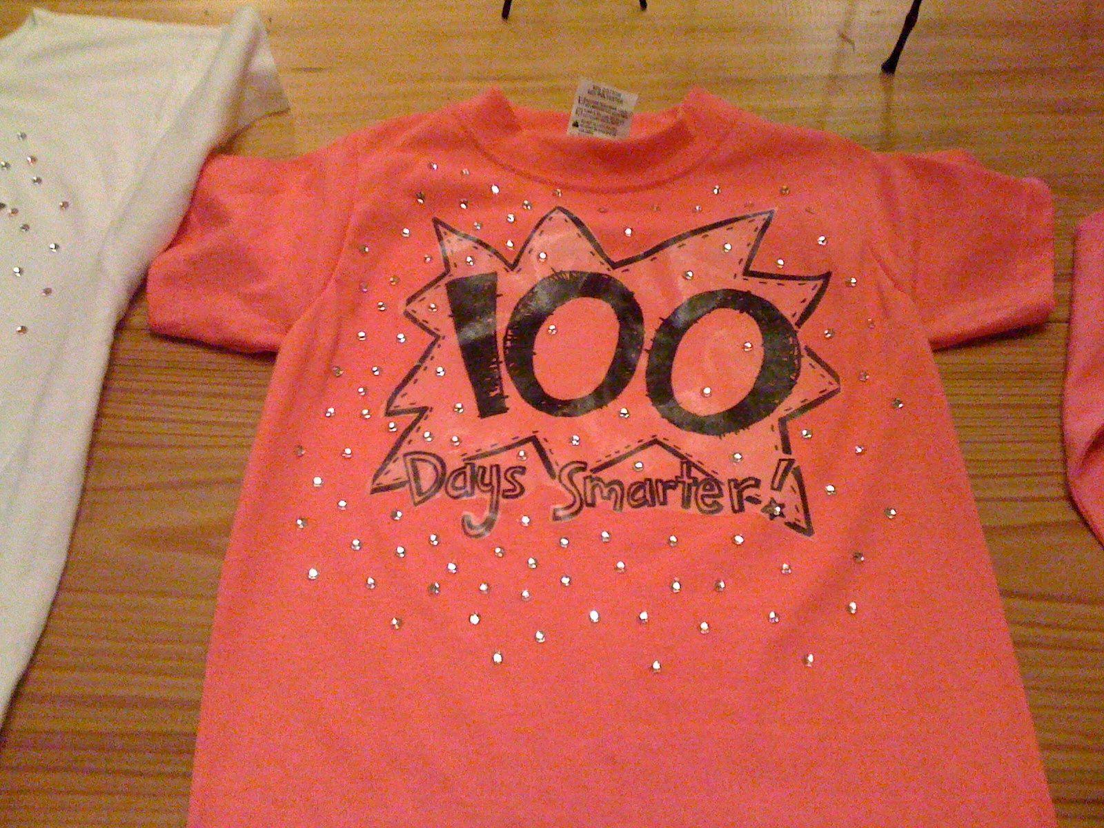 100 Days Of School T Shirt Ideas Diy