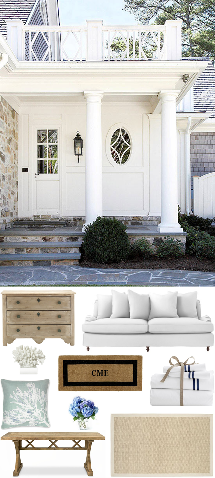 CHIC COASTAL LIVING: Beach House: Get The Look @Serena U0026 Lily @Williams