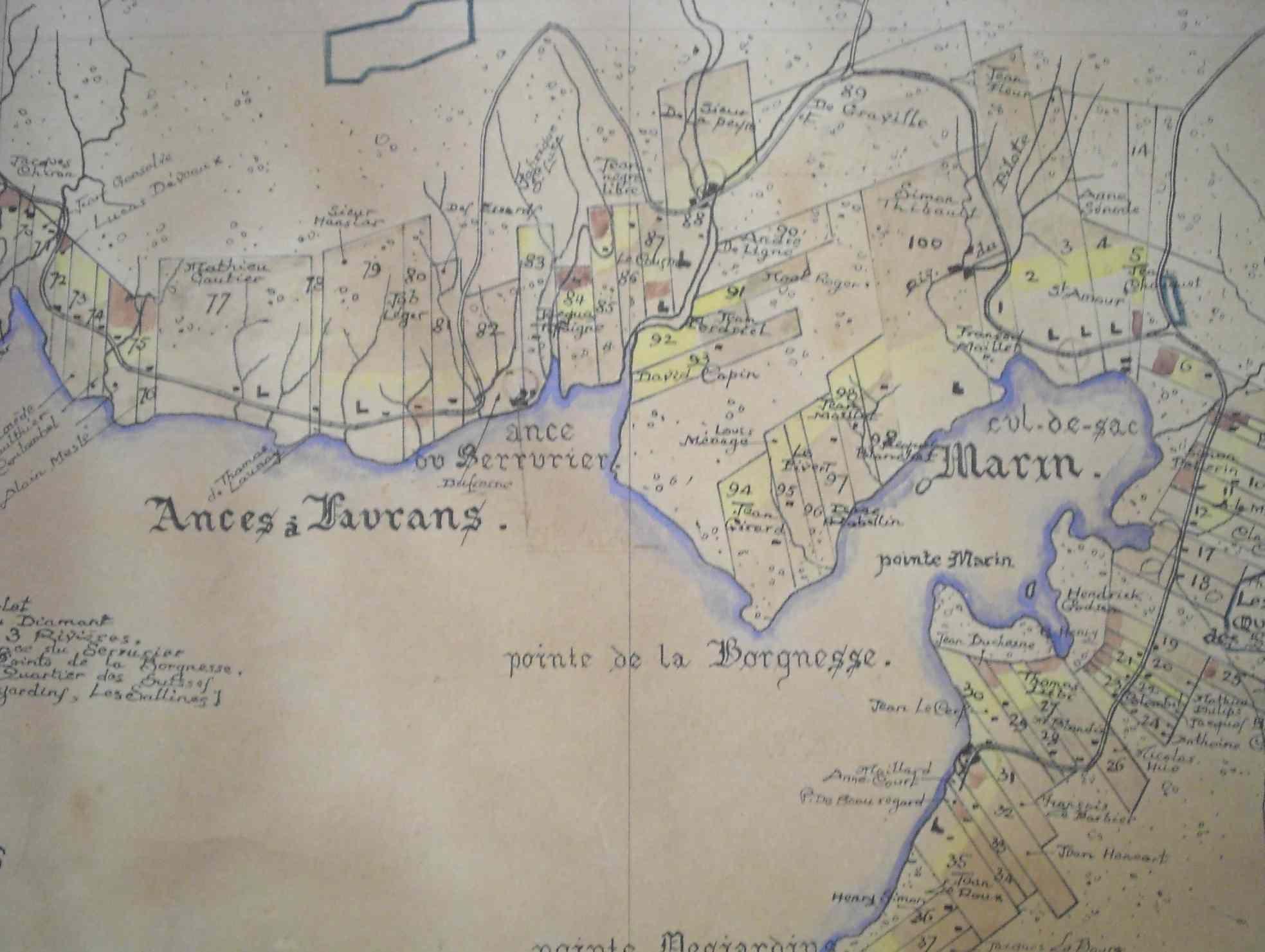 Carte ancienne #Martinique Le Marin | Martinique d'Antan | Pinterest