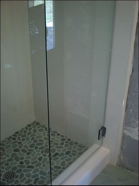 saloon style frameless shower doors 38 tempered glass