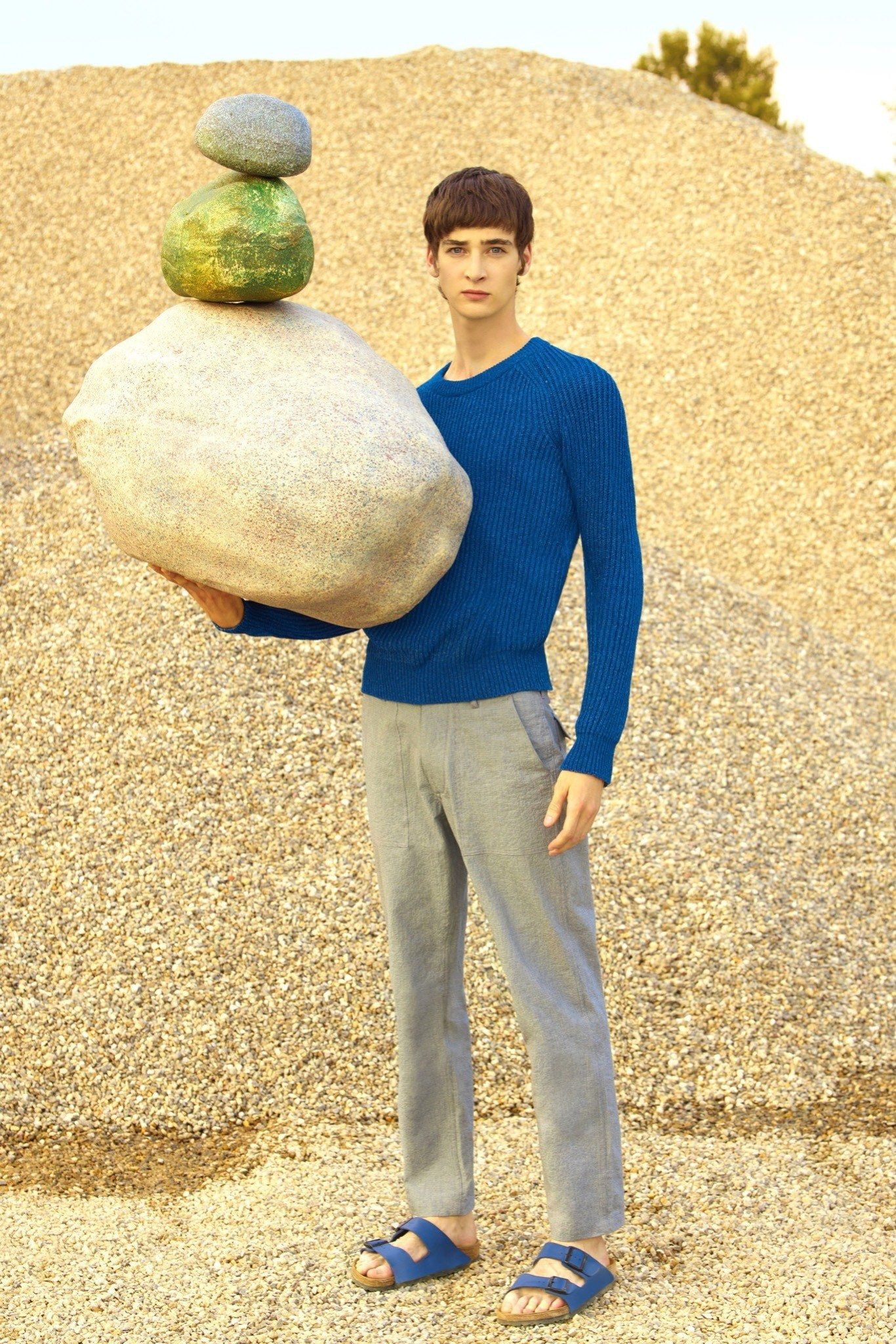 See the complete Maison Kitsuné Spring 2016 Menswear collection.