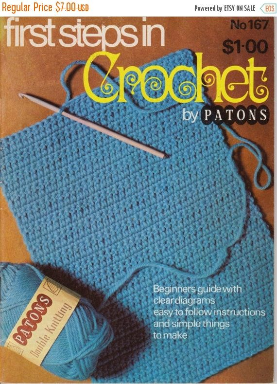 Patons 167 First Steps in Crochet Simple things to make for the home