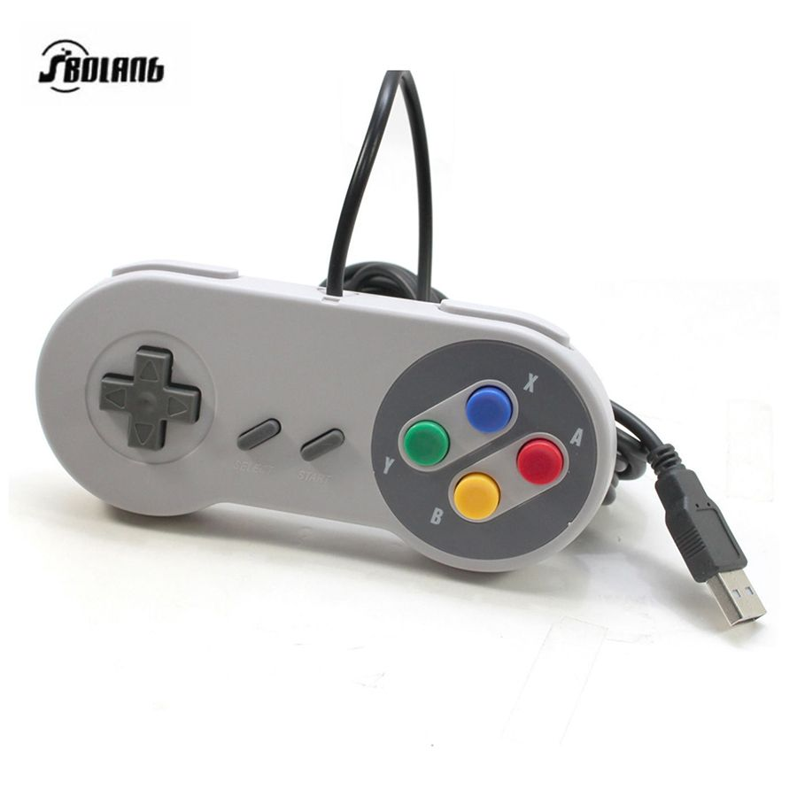 Hot Wired for Nintendo SNES USB Controller for PC for MAC USB ...