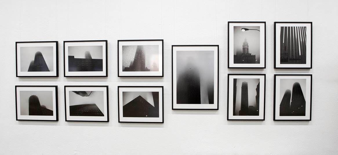 Dominik Paunetto - Chicago fog Architekturfotografien   Bilderrahmen ...