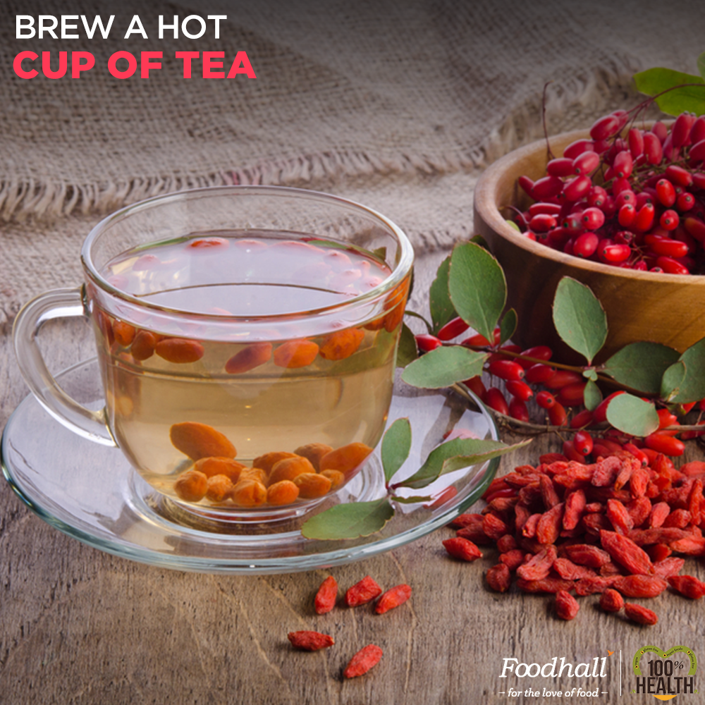 Goji Berry Tea Is Well Known For Its Therapeutic Powers Boil