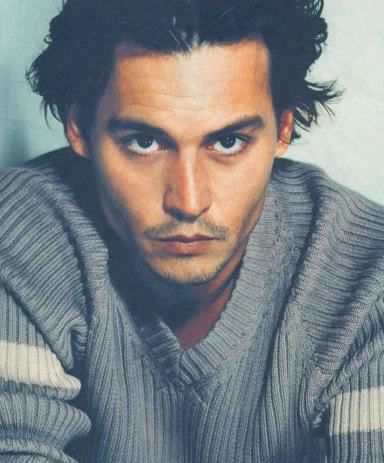 Johnny Depp, because what is he, like 50 years old and he looks like a friggin' twenty-four year old.  Bastard.  Plus, he's funny as hell.  Double bastard.