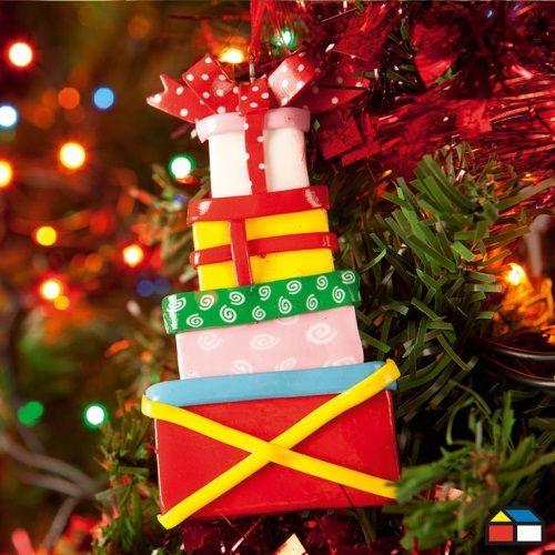 Regalos navideños para adornar el árbol - #DecoracionNavideña ...