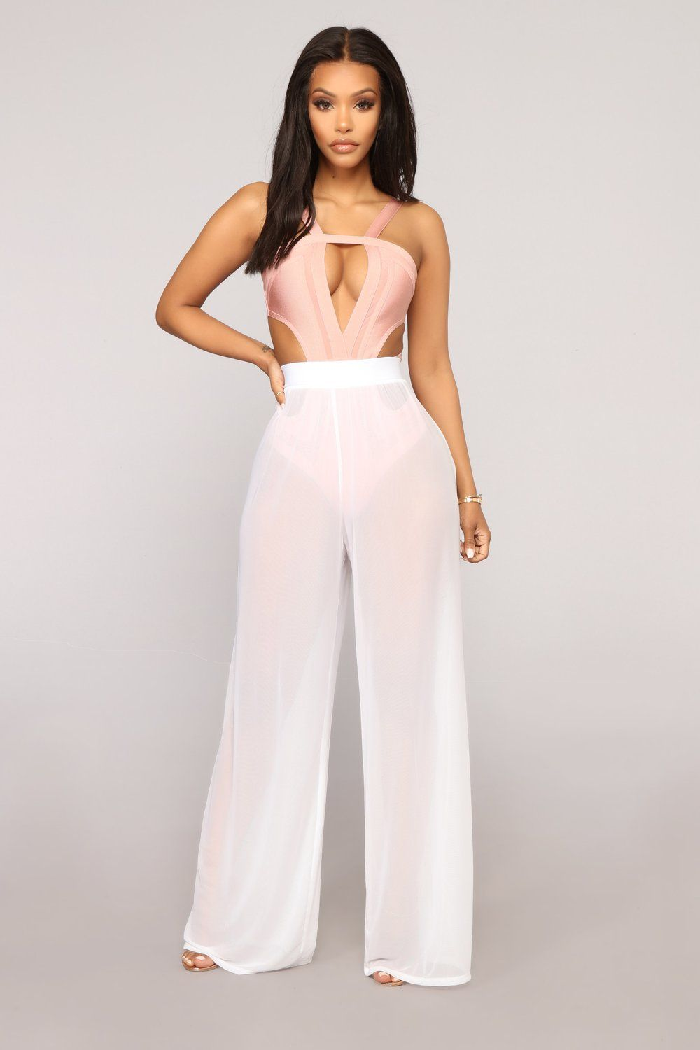 e9b2b3bf371b6 Dare To Cover Coverup Pant - White in 2019 | Alpha Kappa Alpha ...