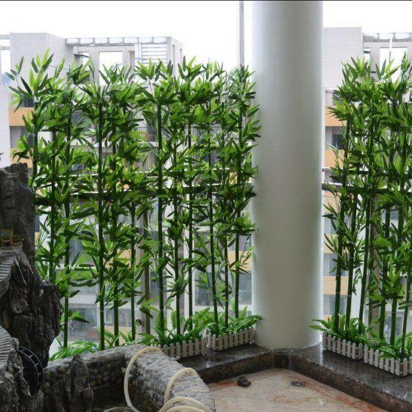 Green Bamboo Sticks For Decor