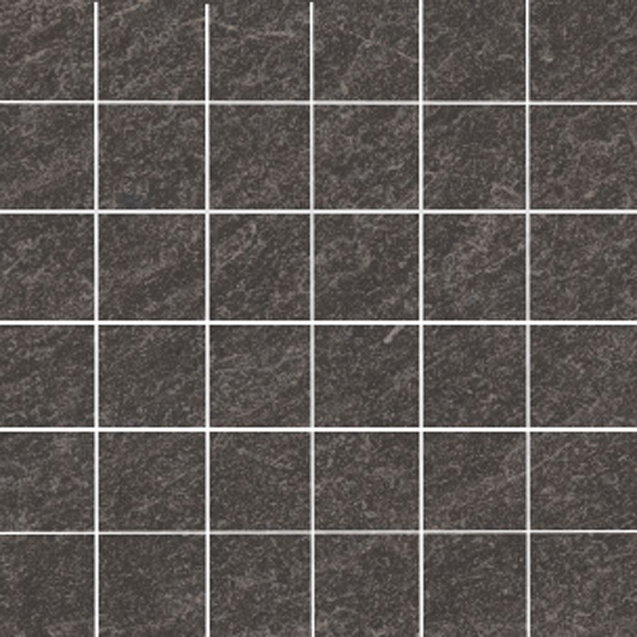 Shop style selections galvano charcoal glazed porcelain mosaic master bath shower floor style selections galvano charcoal porcelain granite border tile common x actual x dailygadgetfo Image collections