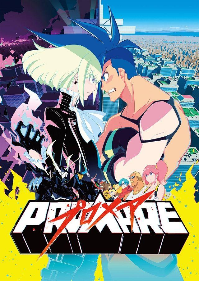 PROMARE Filme Anime revela Novo Trailer e Poster