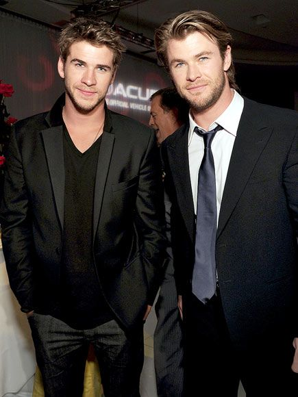 hemsworth brothers fashion hemsworth liam hemsworth chris