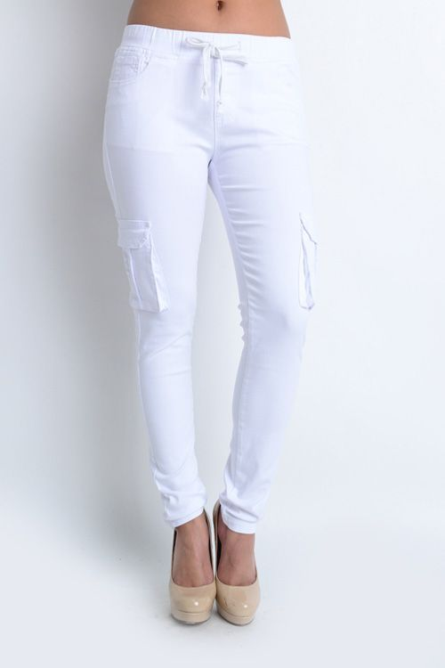 finest selection 6616a 15271 Women s White Jogger Pants   Cute Joggers   street style. ♥ Fashion  inspiration Women apparel   Women s Clothes   Fashion   Style   Dresses    Outfits ...