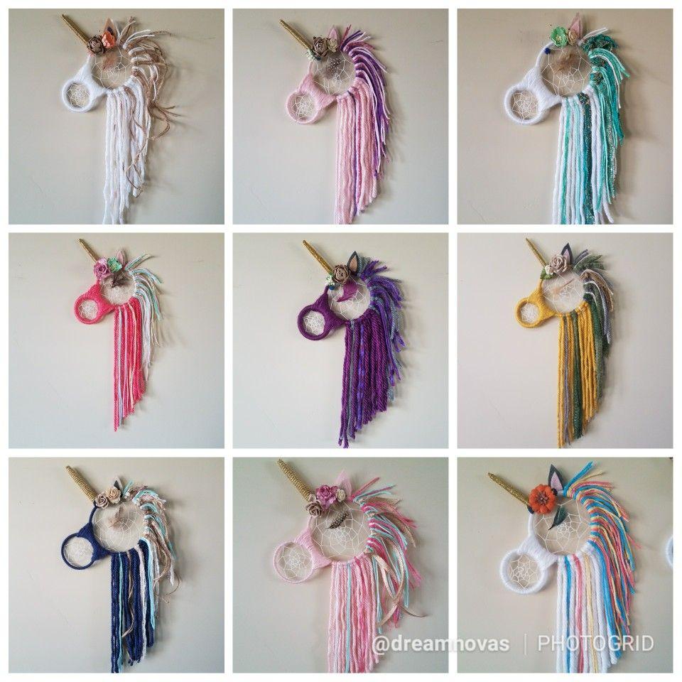 Different unicorn dream catcher requests