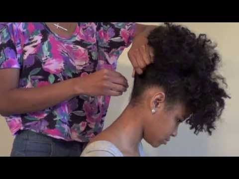 How To Style Natural Hair 5 Ways Youtube Medium Hair Styles Hair Styles Medium Natural Hair Styles