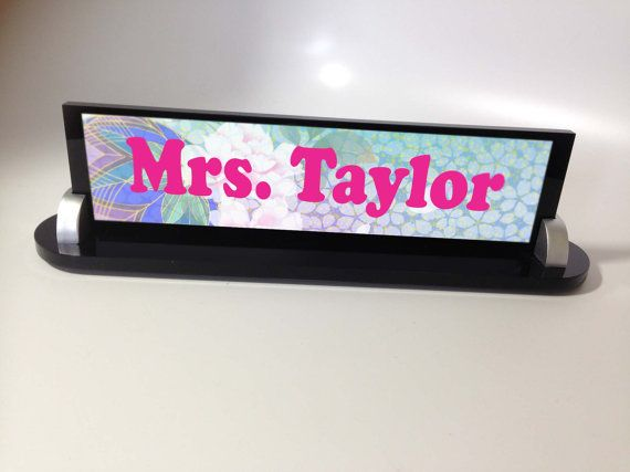 personalized name plate custom business desk name sign plaque in rh pinterest com