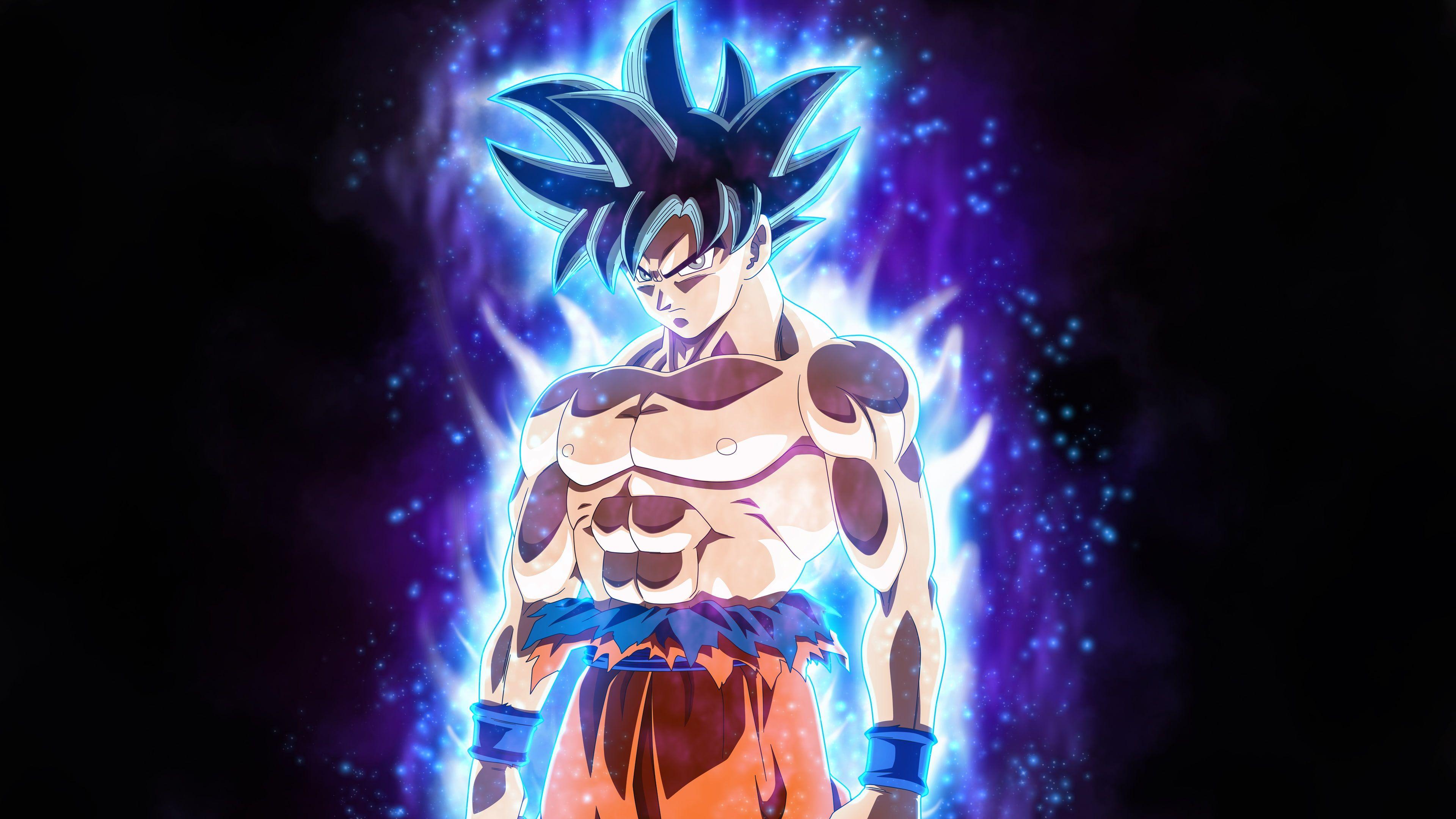 Goku Ultra Instinct Wallpaper 4k Mobile