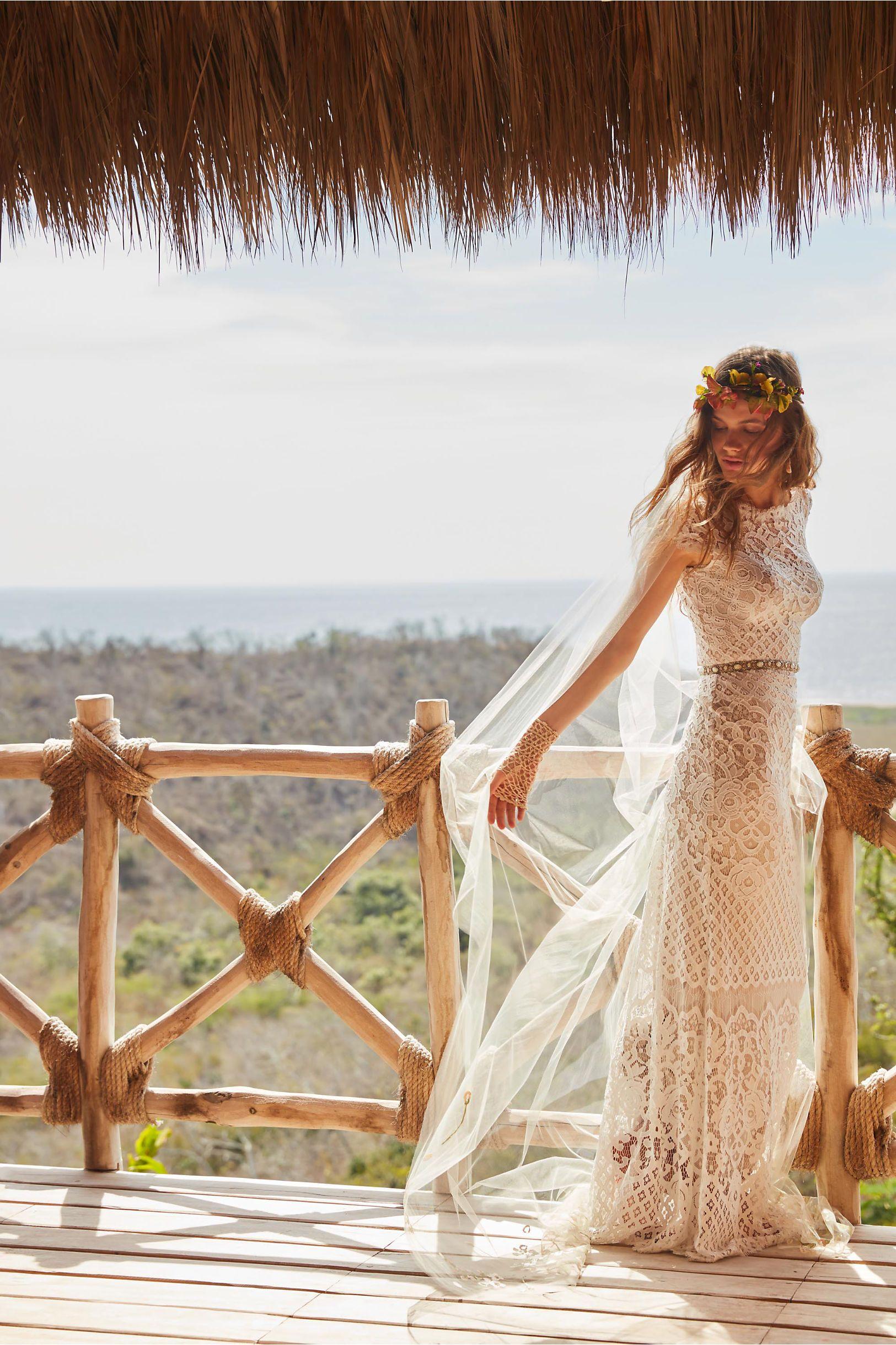 Bhldn peridot gown ivorychampagne in bride bhldn wedding