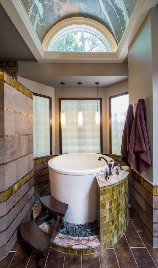 Japanese soaking tubs for small bathrooms contemporary for Small japanese bathroom ideas