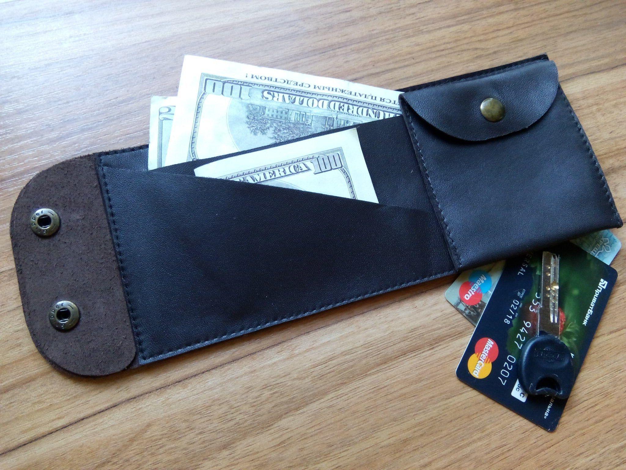 Hands free purse unusual mens wallet idea gift for men