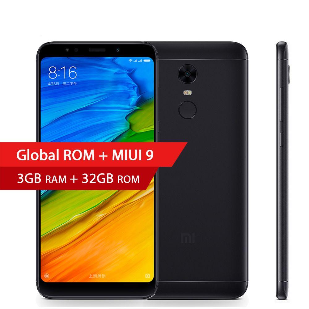 Global Rom Xiaomi Redmi 5 Plus 3gb Ram 32gb 599 189 Full Iphone 5c 16gb 1gb 8mp Garansi 1thn Original Apple White Blue Green Yellow Pink