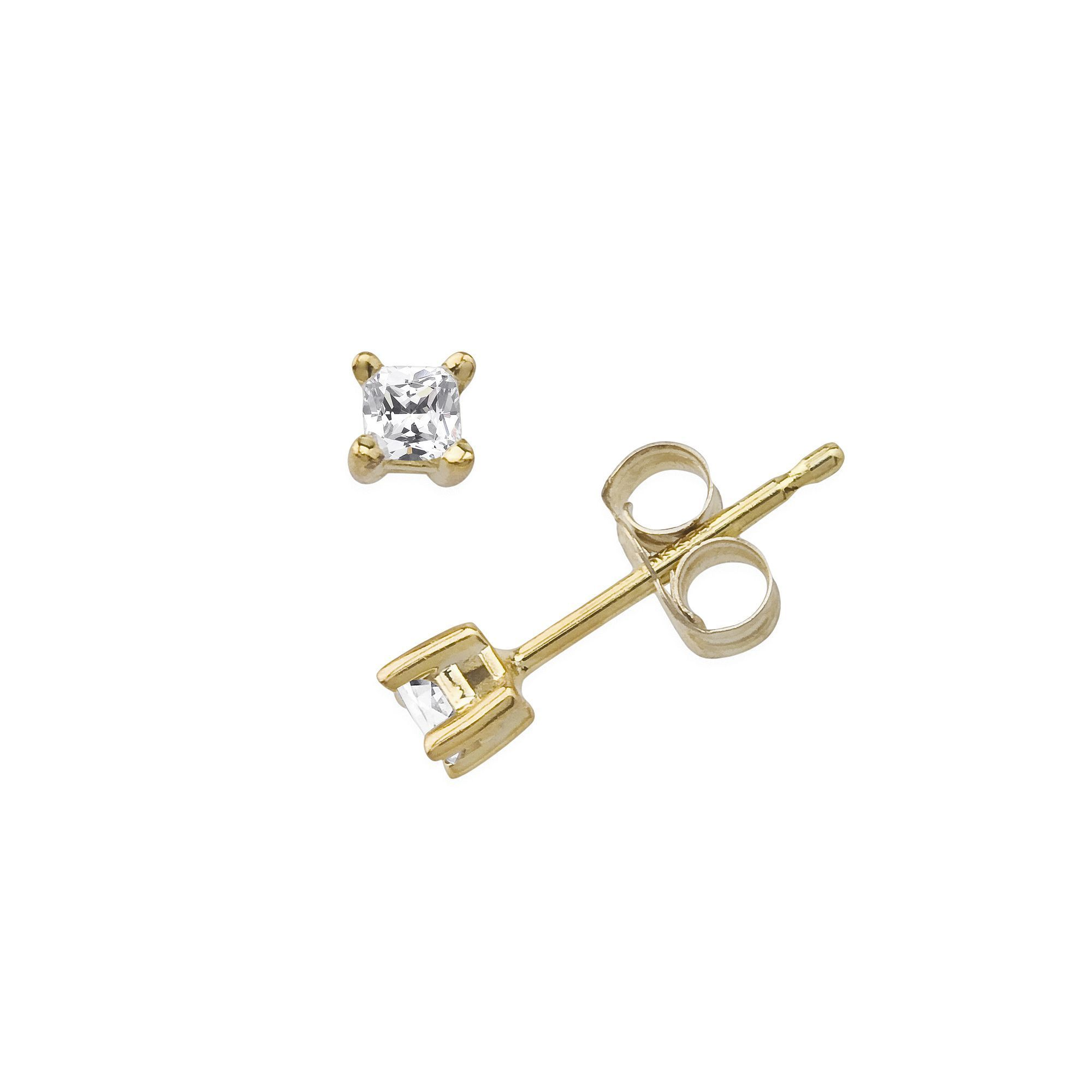 diamonds stud wh pave earring mens diamond single square s men gold