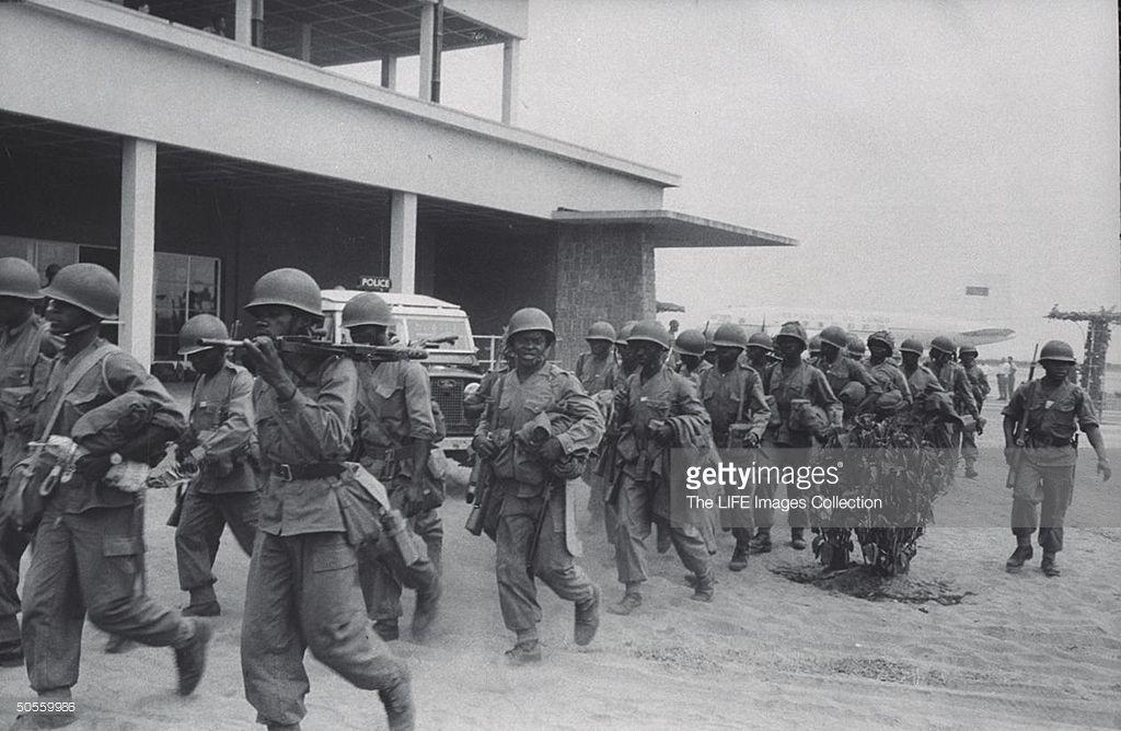Swedish UN Troops in Katanga Province.