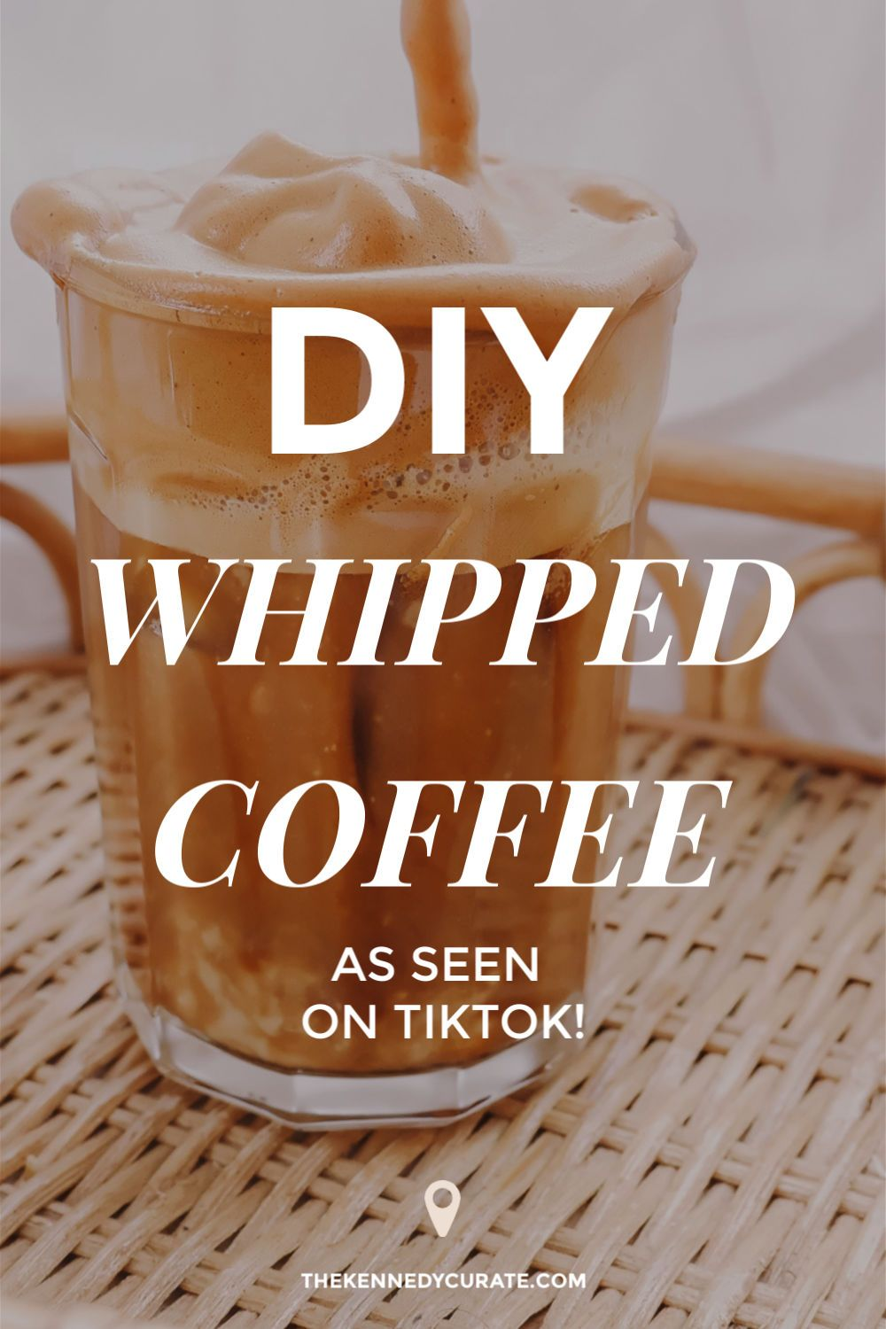 How to make the whipped coffee youre seeing on social