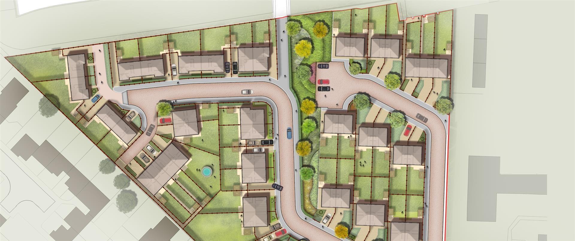 landscape plan residential housing