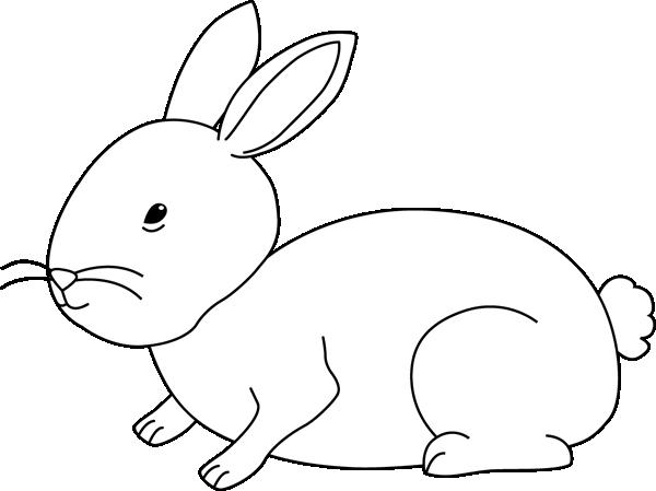 Black And White Bunny Rabbit Clip Art Black And White Bunny Rabbit Image Bunny Rabbit Black And White Bunny