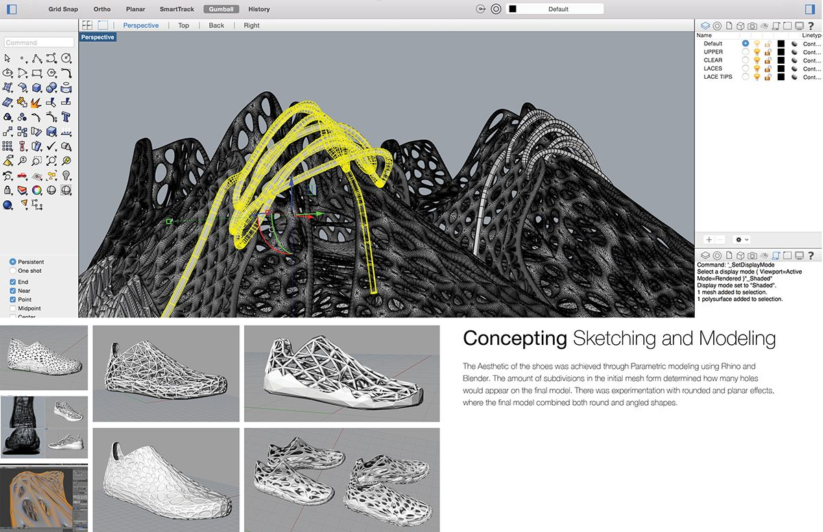 453a6d984d85 Design Thesis  3D printing the future of footwear on Behance