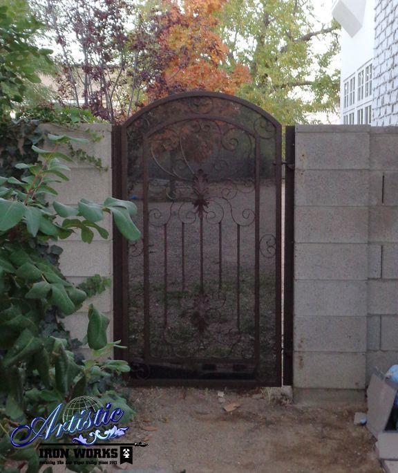 Ornamental Wrought Iron Side Gate Wrought Iron Gates Side Gates Iron Gates