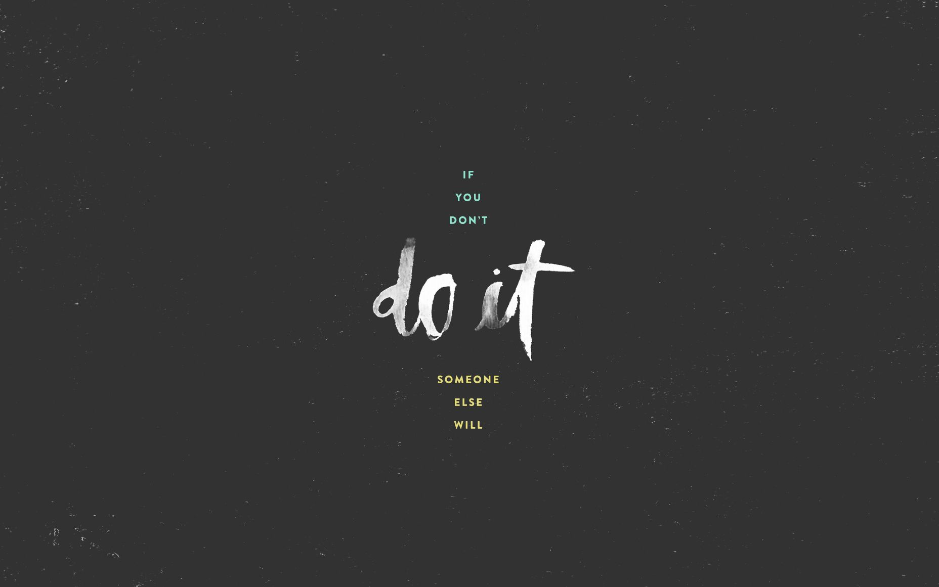 Do It Desktop Wallpaper Mantra