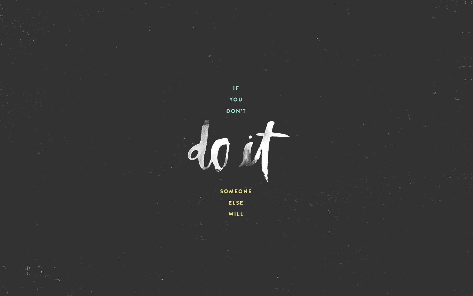do it desktop wallpaper