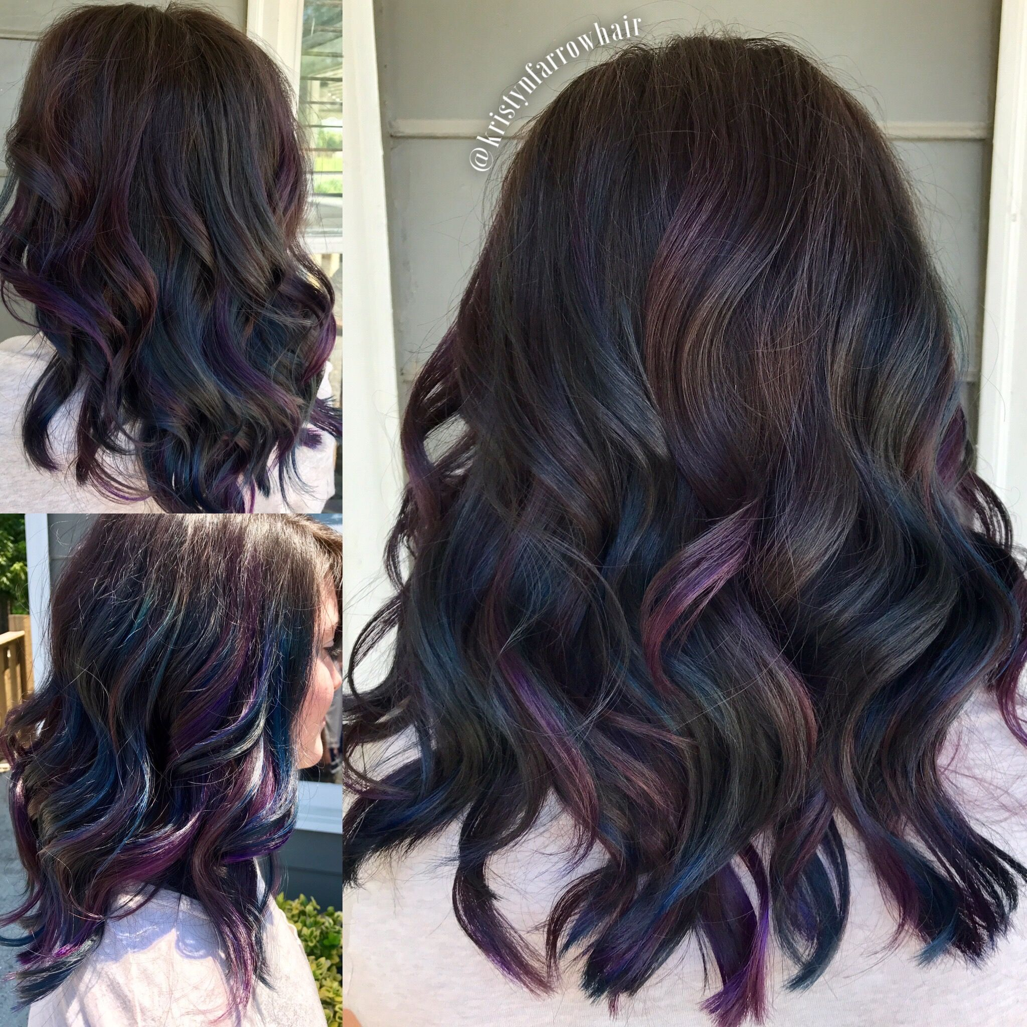Oil Slick Hair Pulpriot In 2019 Hair Slick Hairstyles