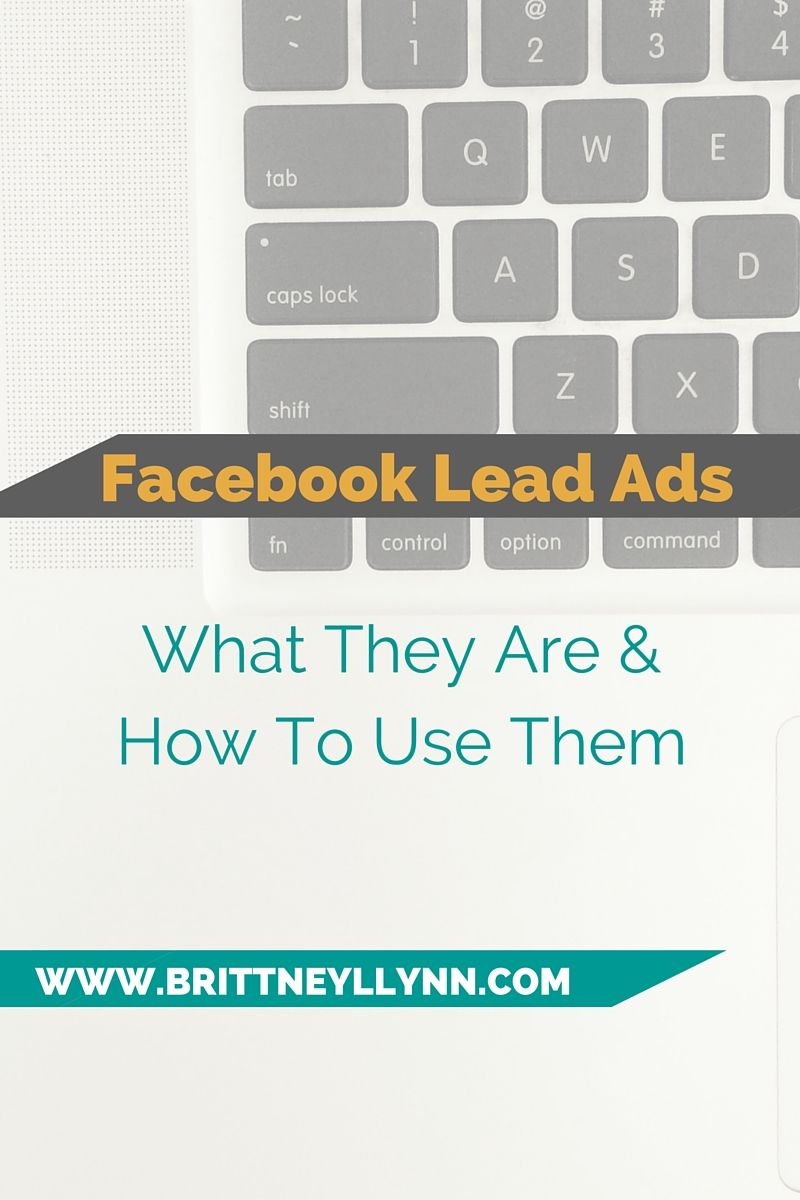 Wondering what the heck Facebook Lead ads are? This blog post takes you step-by-step, explaining exactly what they are and how YOU can use them to grow your business.