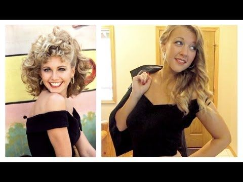 e5214b472502d7 Halloween Tutorial: Sandy from Grease | costumes/cosplay | Halloween ...